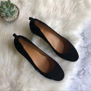 J. Crew Black Heeled Shoes Sz8